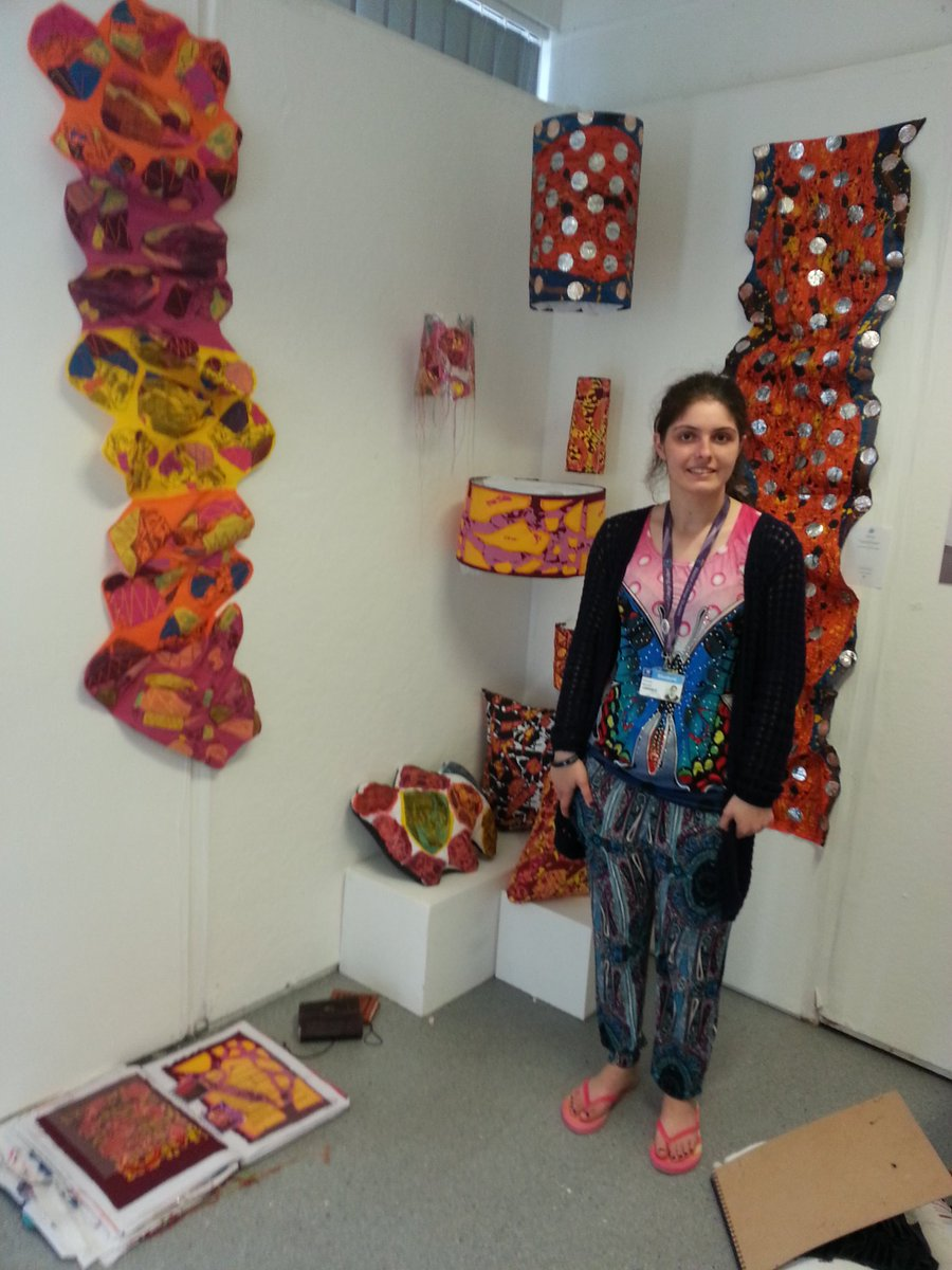 Farrah's UAL Foundation Diploma in Textiles and Surface Pattern Design